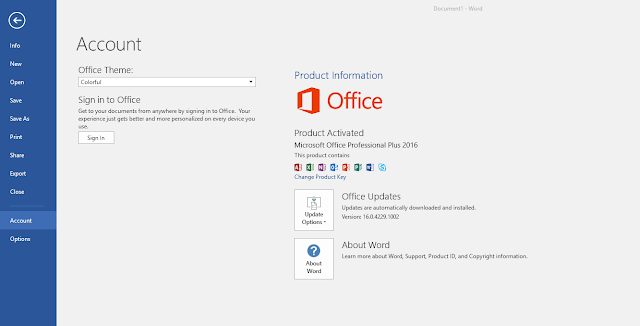 Permanently Activate Ms office 2016 Using KMSPico