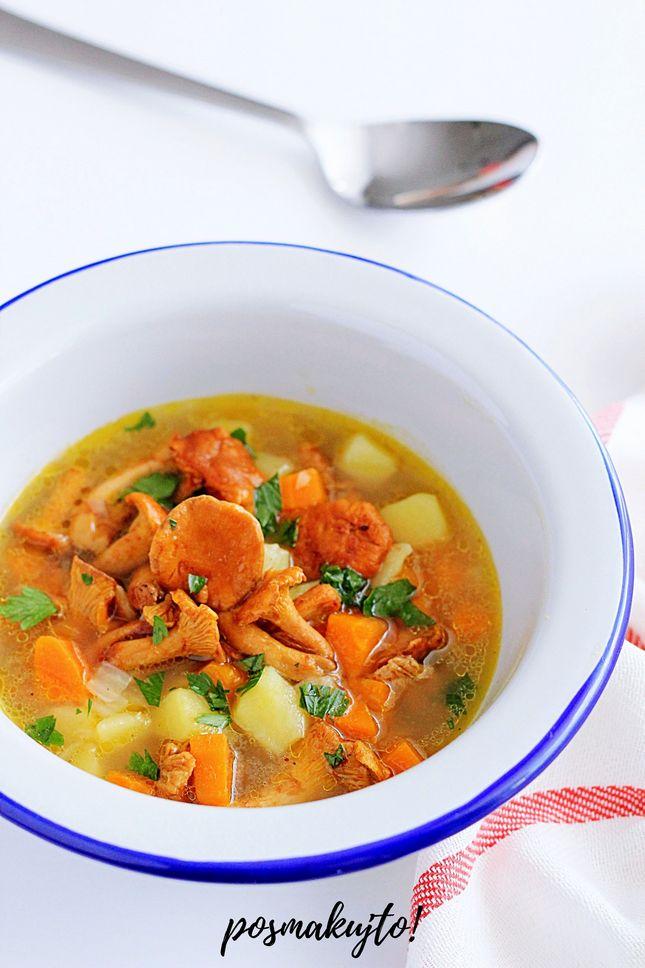 zupa kurkowa z ziemniakami i marchewka