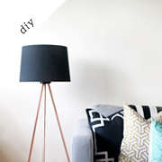 Tripod Floor Lamp | Knocktoberfest