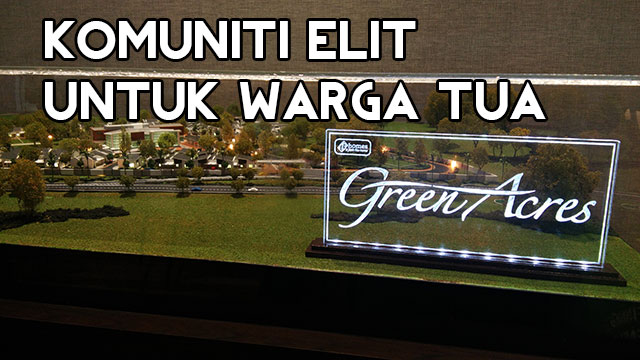 Kampung Persaraan Warga Emas, Persepsi diubah oleh GreenAcres 1