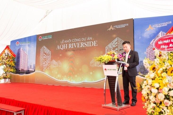 Dự án AQH Riverside đã chính thức được khởi công.