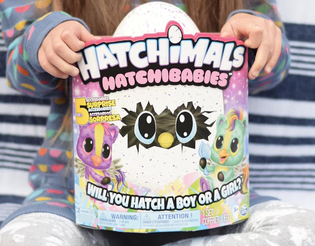Hatchibabies from Hatchimals in packaging