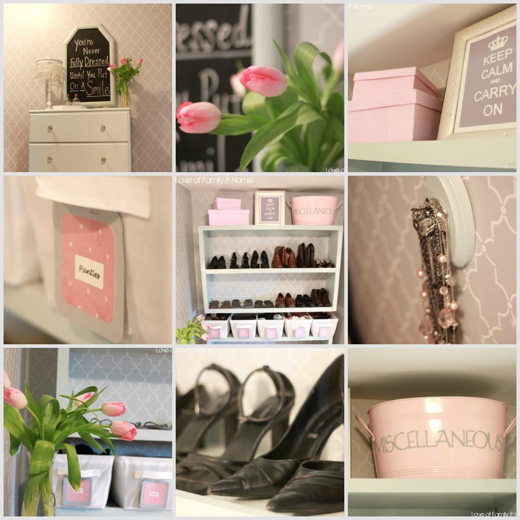 Master Closet Makeover Reveal....