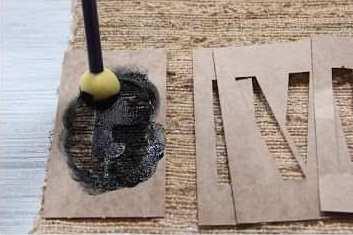 Cara Membuat Kerajinan Tangan Dari Bahan Bekas | Taplak Kain Goni 03