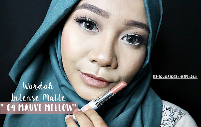 [REVIEW] Wardah Intense Matte Lipstick
