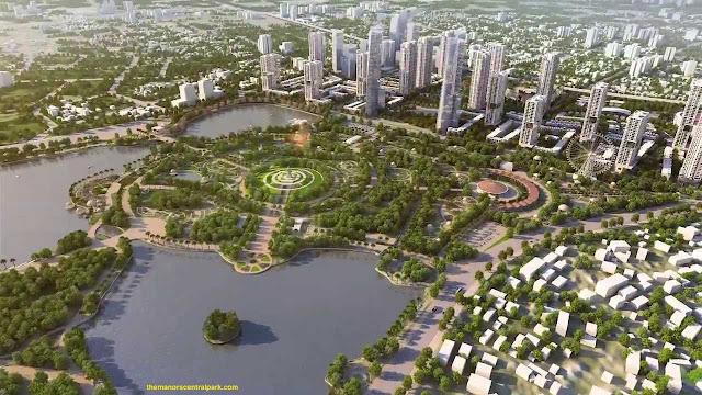 Phối cảnh dự án the manor central park nguyễn xiển