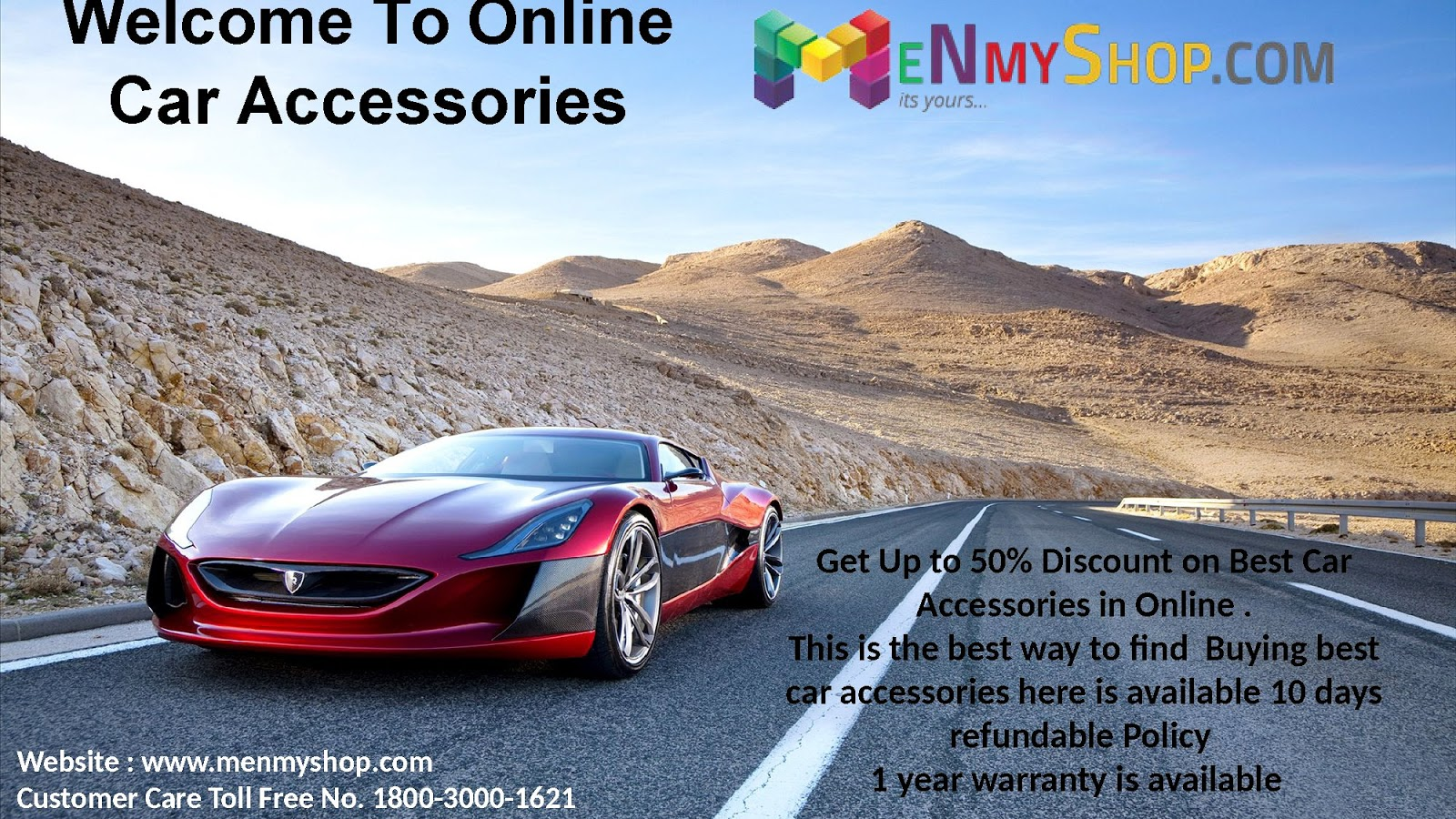 Hurry Purchase Best Car Accessories Online Shop it Lowest Price ...