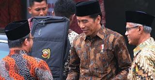 Jokowi kunjungi Kantor Pusat Dakwah Muhammadiyah