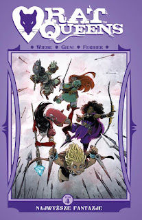 Rat Queens tom 4 okładka