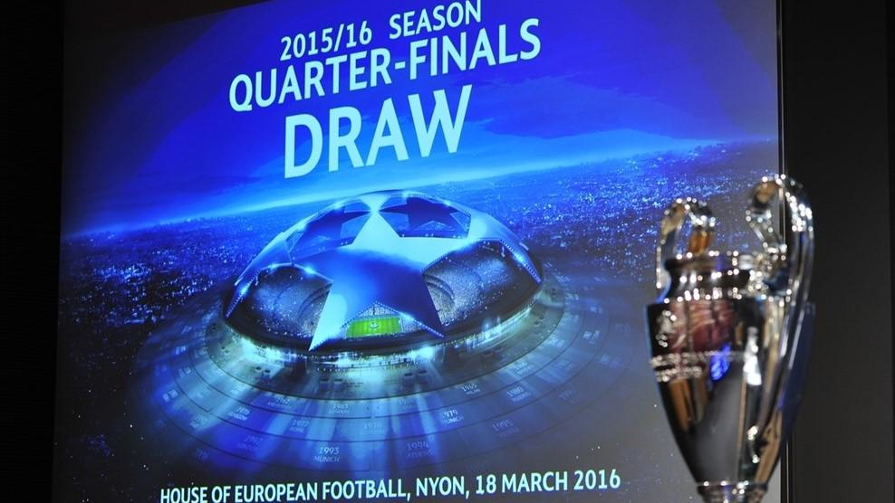 Sorteo de los cuartos de final de la UEFA Champions League 2015/16 ...