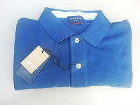 Howick Harvard Pique Polo Shirt in blue