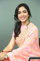 Actress Ritu Varma Pos in Beautiful Pink Anarkali Dress at at Keshava Movie Interview .COM 0208.JPG