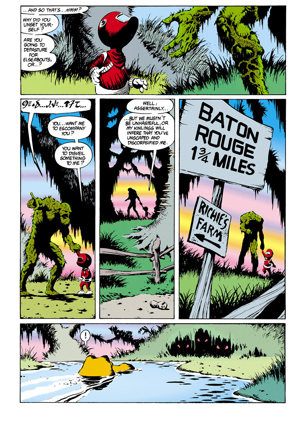 Swamp Thing (1982) Issue #32 #40 - English 16