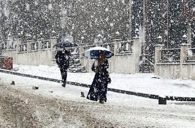 Son dakika kar geliyor..meteoroloji uyardı...