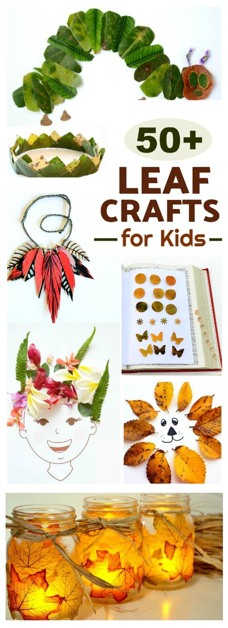 50+ FALL LEAF CRAFTS FOR KIDS- awesome ideas!  Pin!