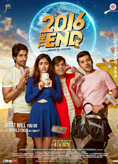 2016 The End First Look Poster