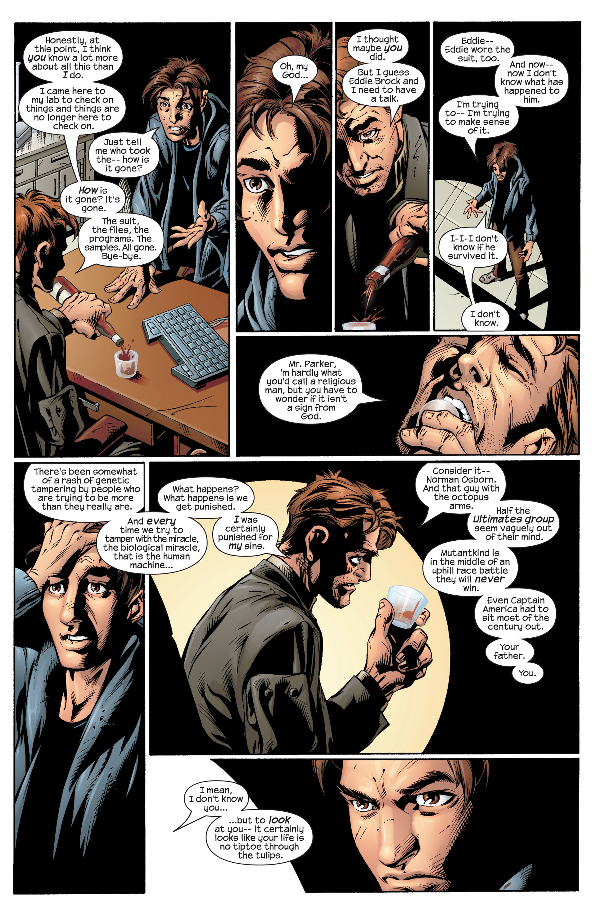 Read online Ultimate Spider-Man (2000) comic -  Issue #39 - 20