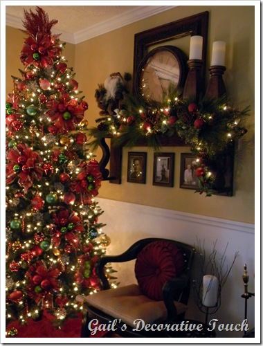 Christmas Mantel Shelf from Gail's Decorative Touch