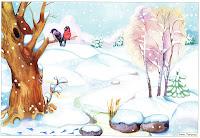 Картинки по запросу зима картинка для детей