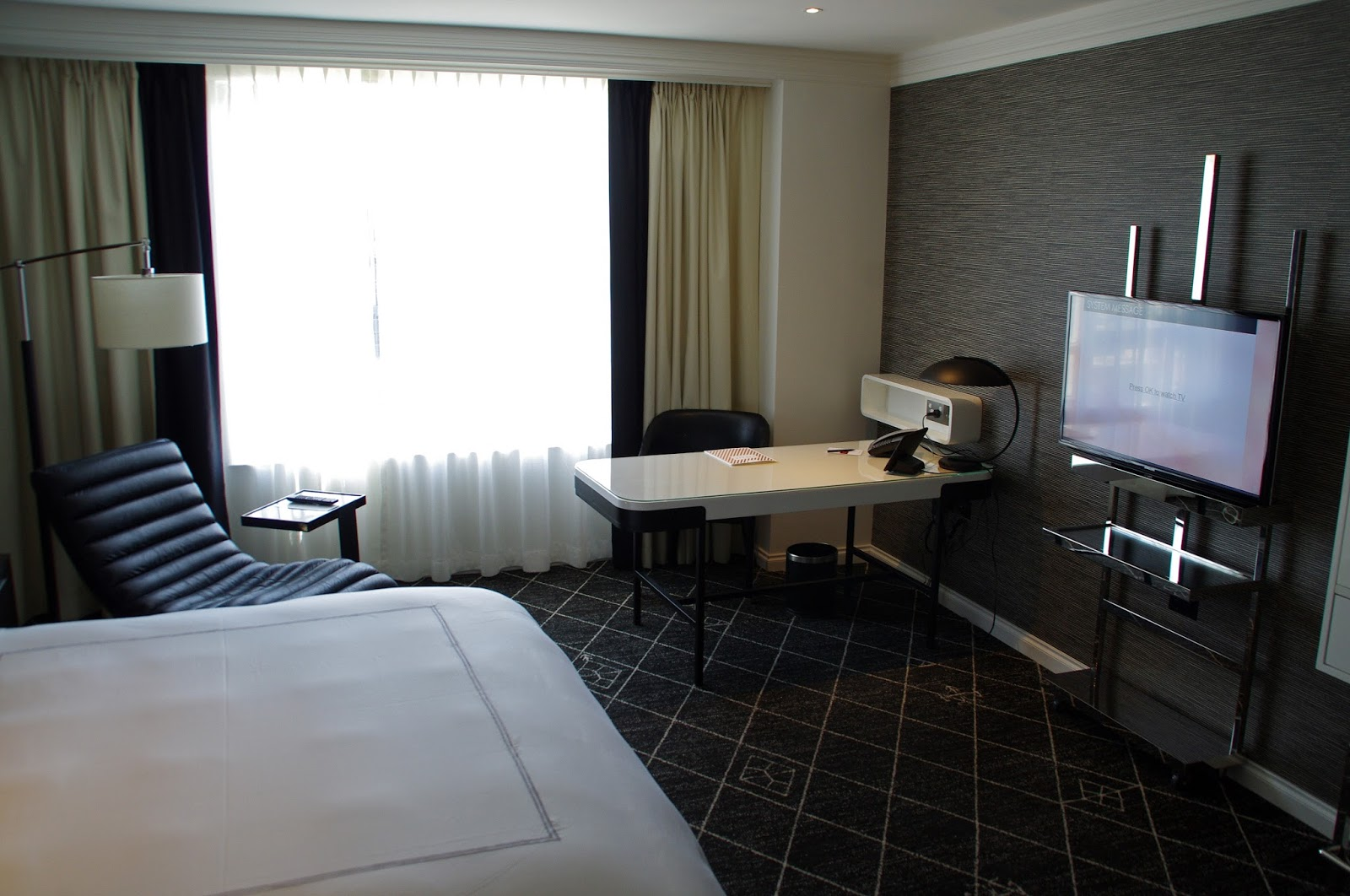 our luxury room in swissotel sydney