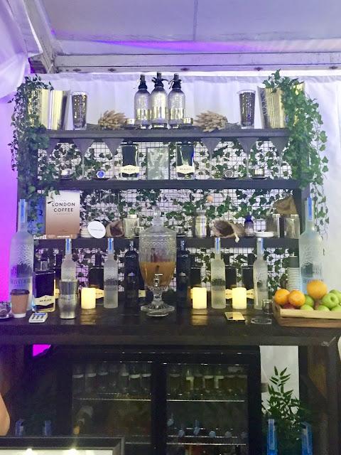 Belvedere Vodka pop up bar at Edinburgh Cocktail Village