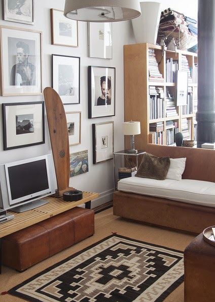 A Chic and Masculine Studio