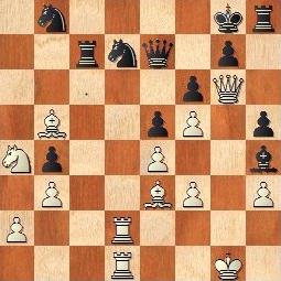 Partida de ajedrez Travesset-Moyano 1981, posición después de 35…Rg8