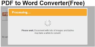 Cara convert pdf ke word