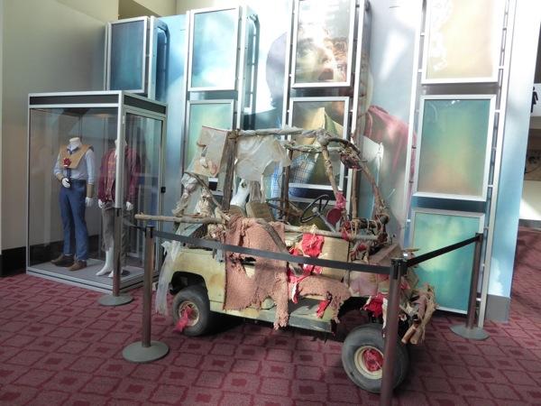 Swiss Army Man movie costumes car prop