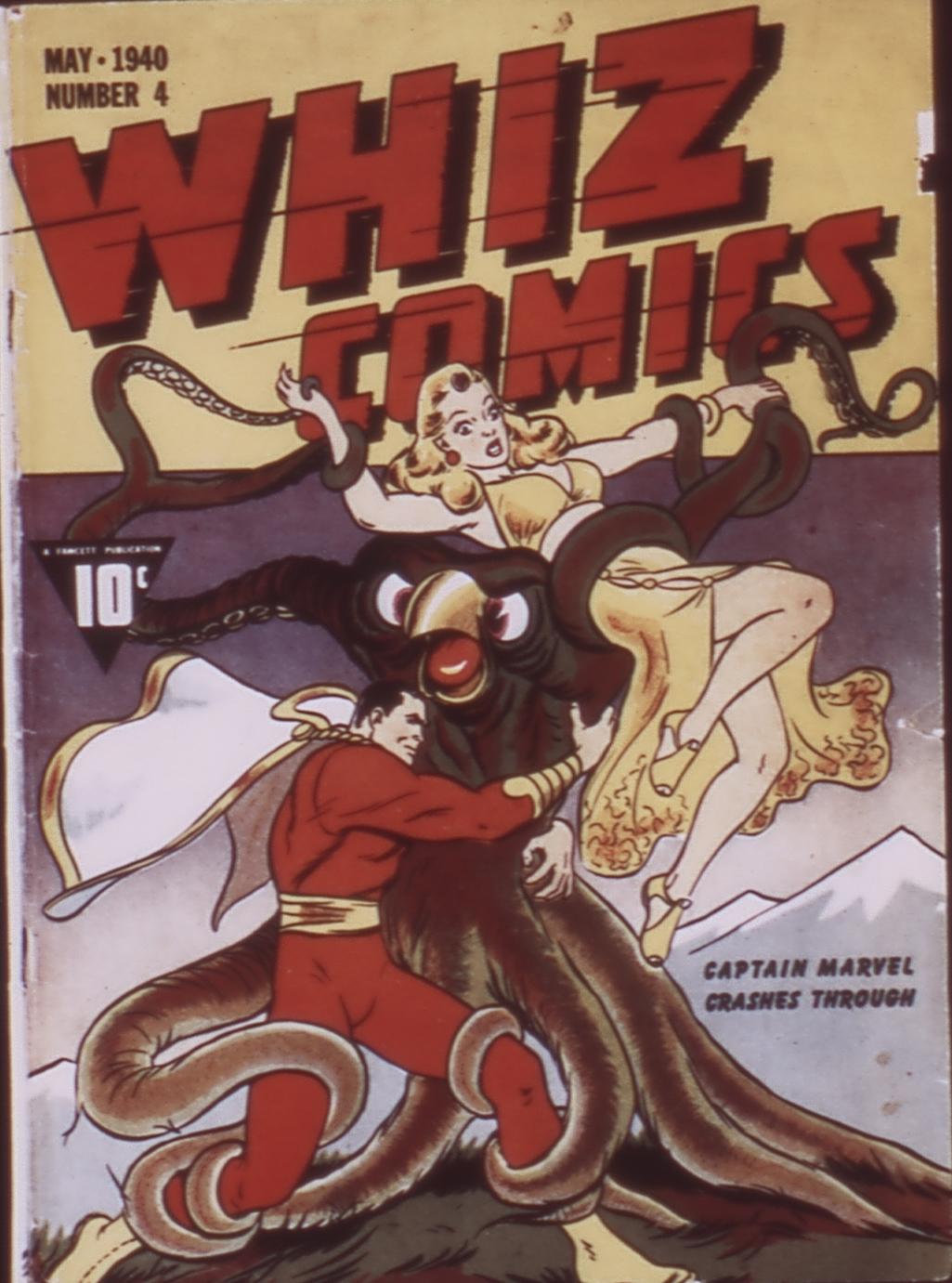WHIZ Comics 4 Page 1