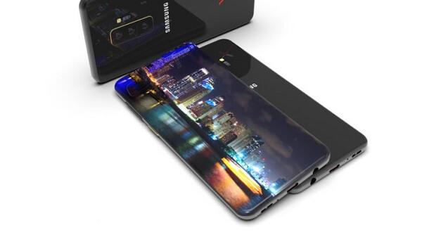 ميزات شاشة هاتف Galaxy S10