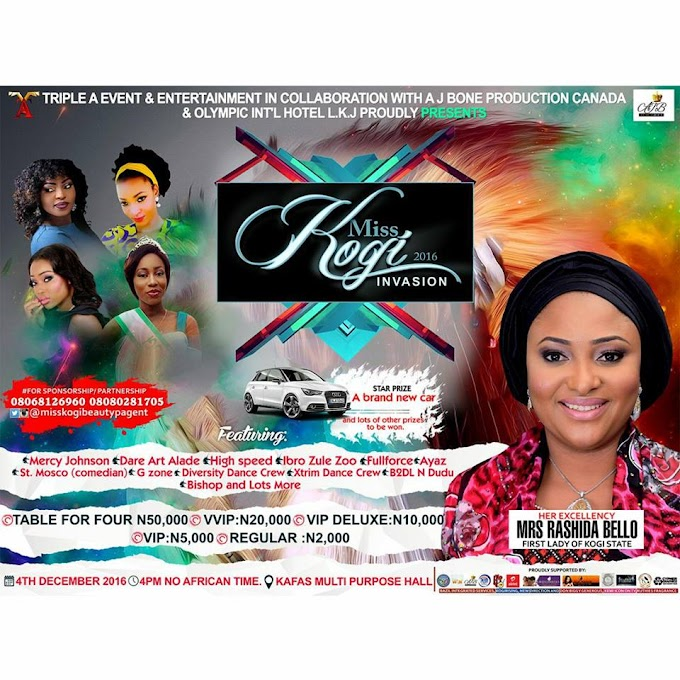 Mercy Johnson, Sharon Sonia and Landy Got Featured On Miss Kogi  Beaty pageant Show : See Details