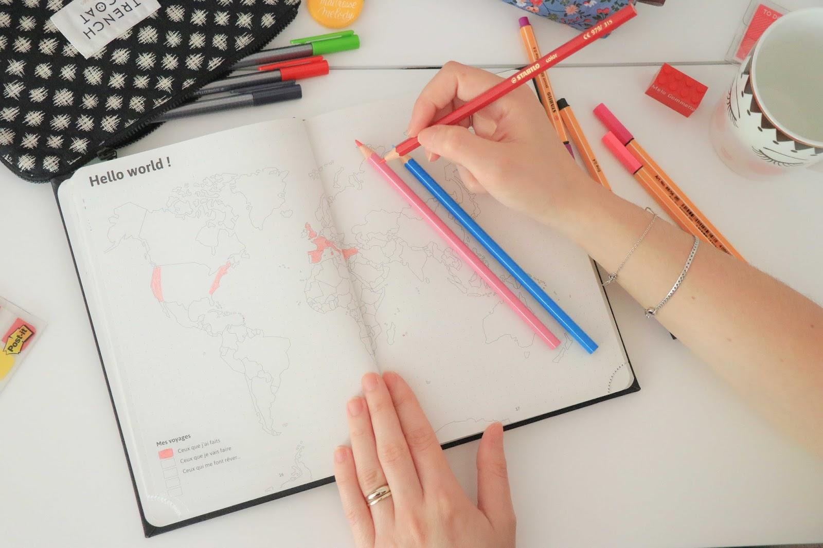 myagenda 365 agenda scolaire bullet journal bujo organisation maitresse ecole lycee universite facile comment concours à gagner