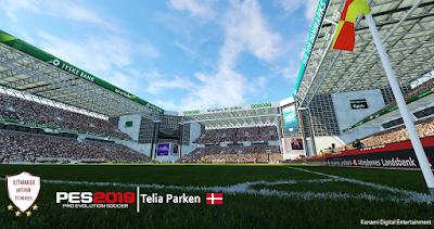 PES 2019 Stadium Telia Parken by Arthur Torres