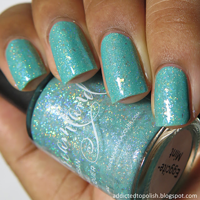 dreamland lacquer eggcite mint