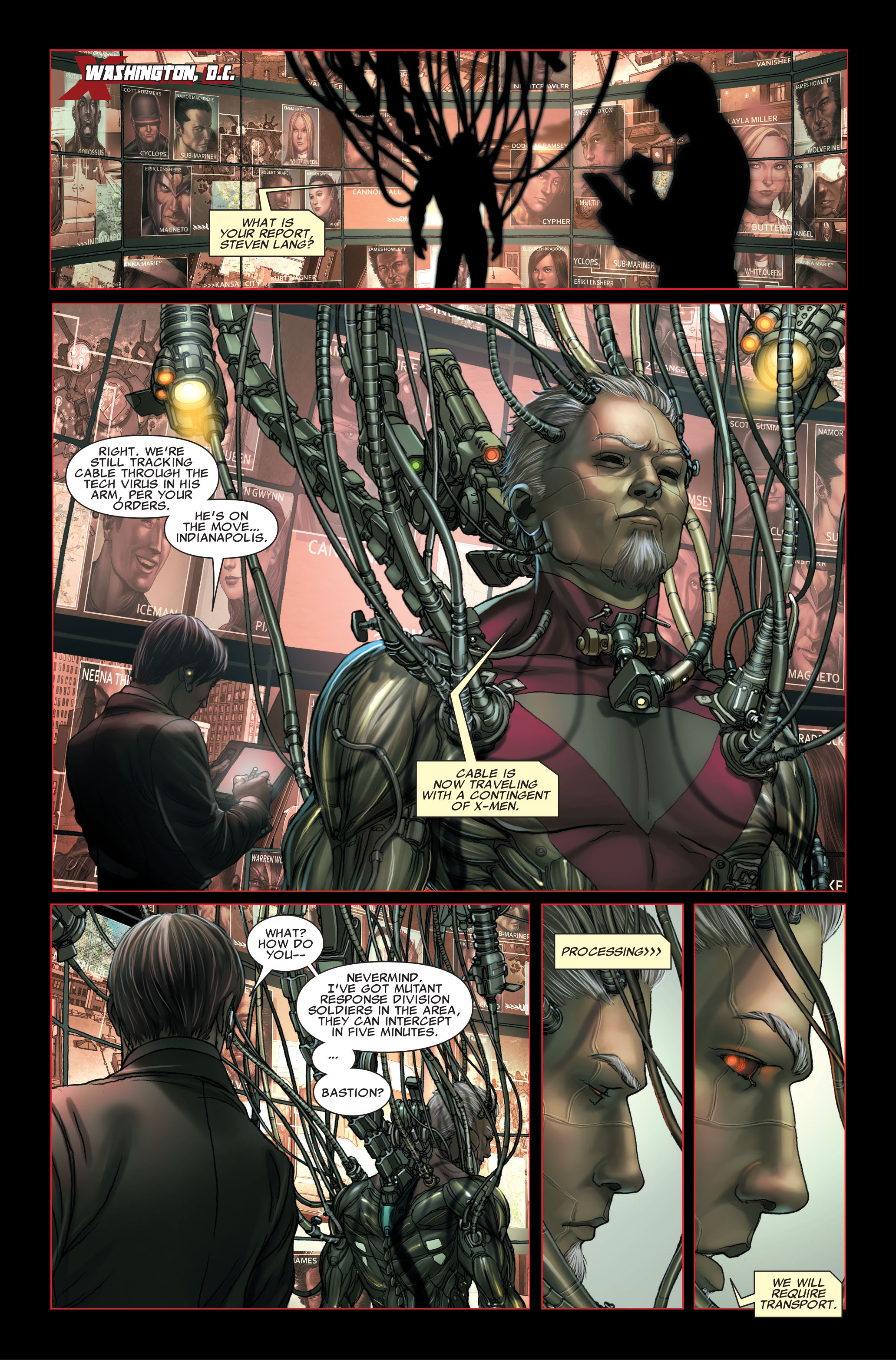 Read online X-Force (2008) comic -  Issue #26 - 5