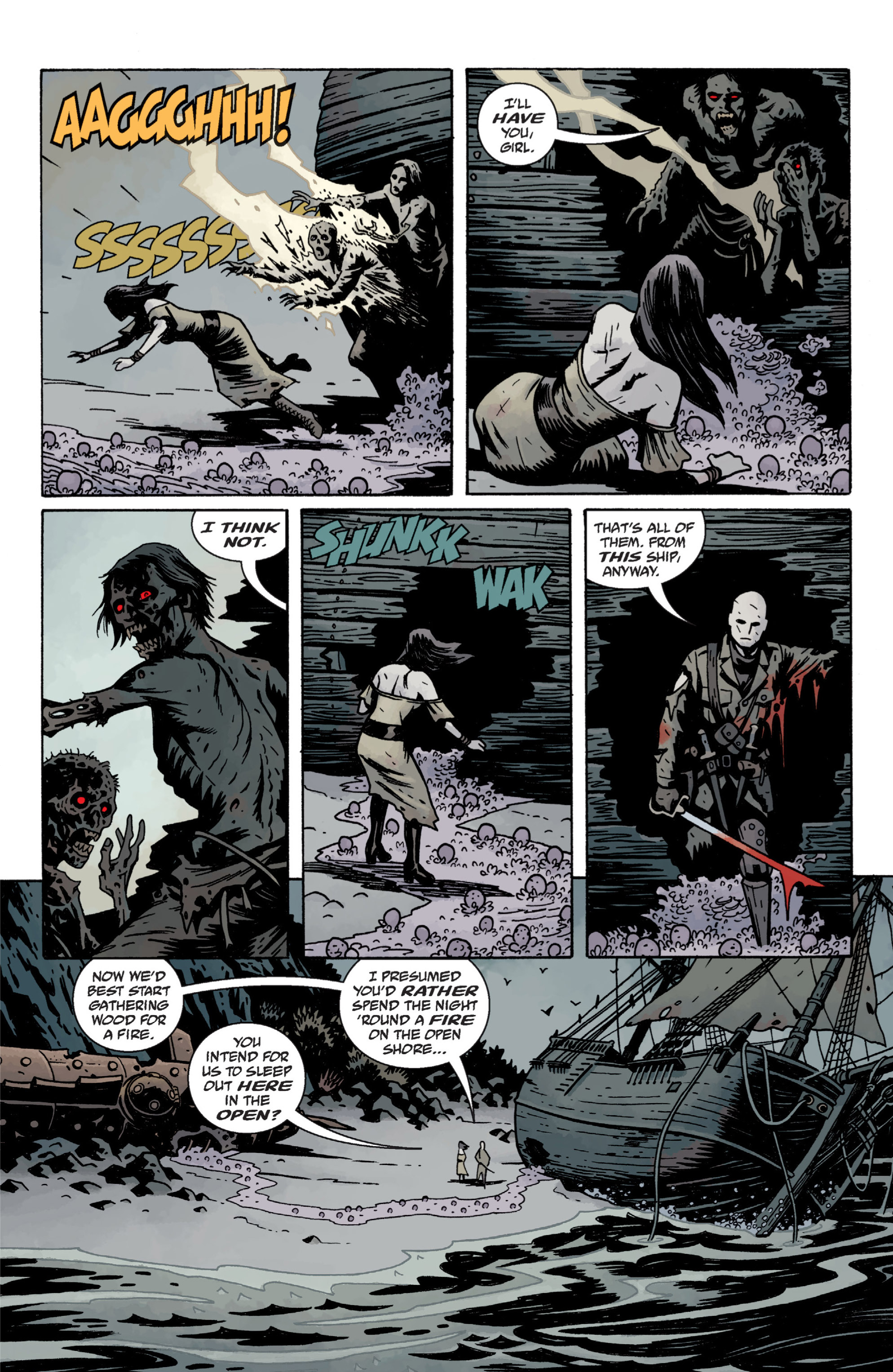 Read online Baltimore: The Plague Ships comic -  Issue # TPB - 79