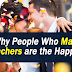Why People Who Marry Teachers are the Happiest