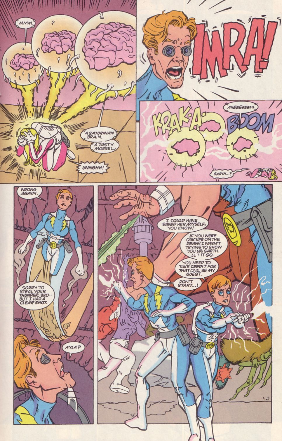 Legion of Super-Heroes (1989) 65 Page 14