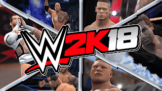 WWE 2K18 pc game wallpapers|images|screenshots