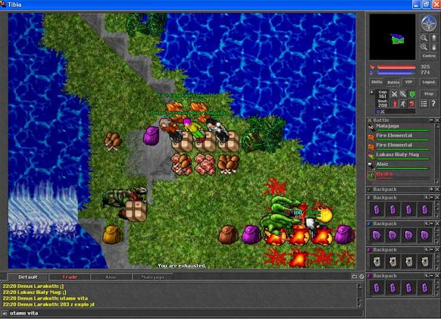 Games que marcaram - Hunt no Tibia