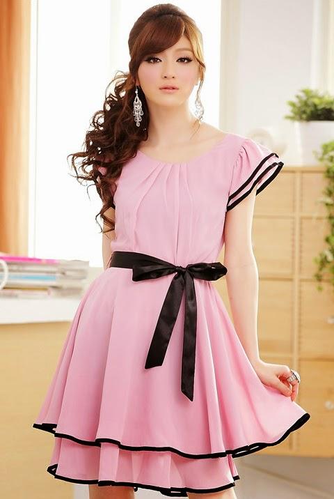 model baju gaun cantik