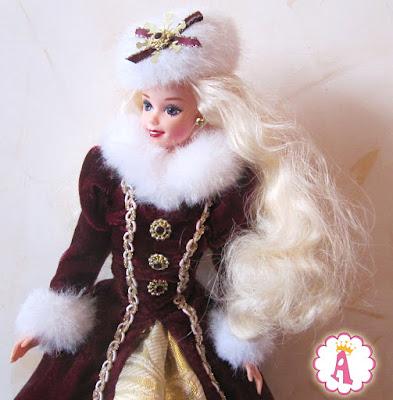 Коллекционная кукла барби 90х