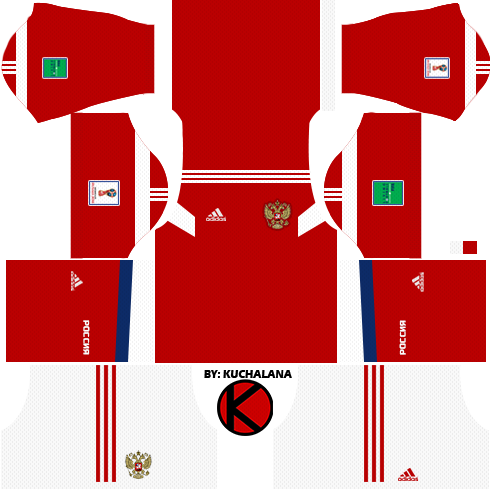 Russia 2018 World Cup Kits -  Dream League Soccer Kits