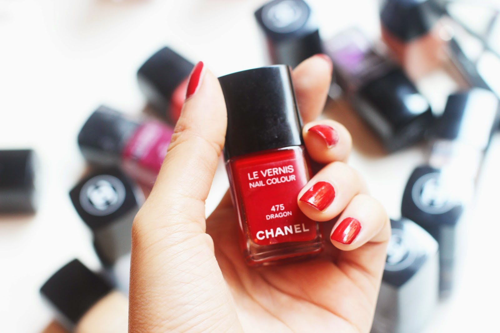 Chanel Classic Red Nail Polish in 475 Dragon