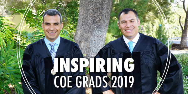 Class of 2019 grads Froylán and Ernesto Villanueva
