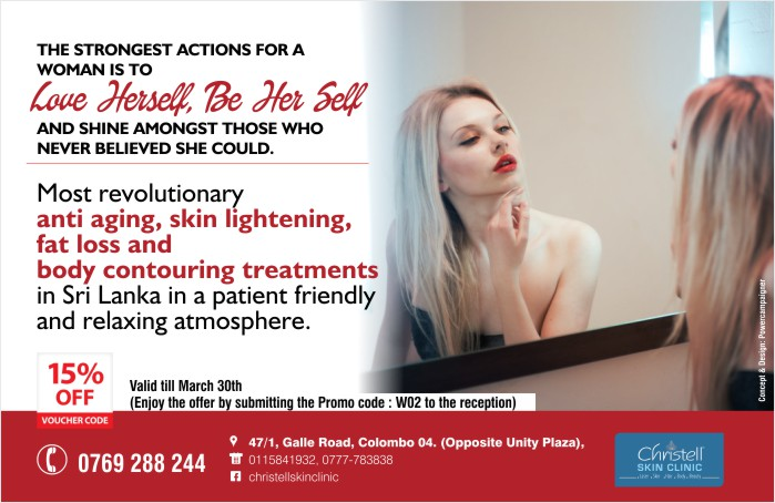 Most revolutionary anti aging, skin lightening, fat loss and body contouring treatments in Sri Lanka