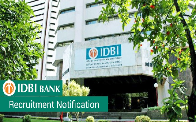 IDBI Recruitment 2018-760 Executive Jobs