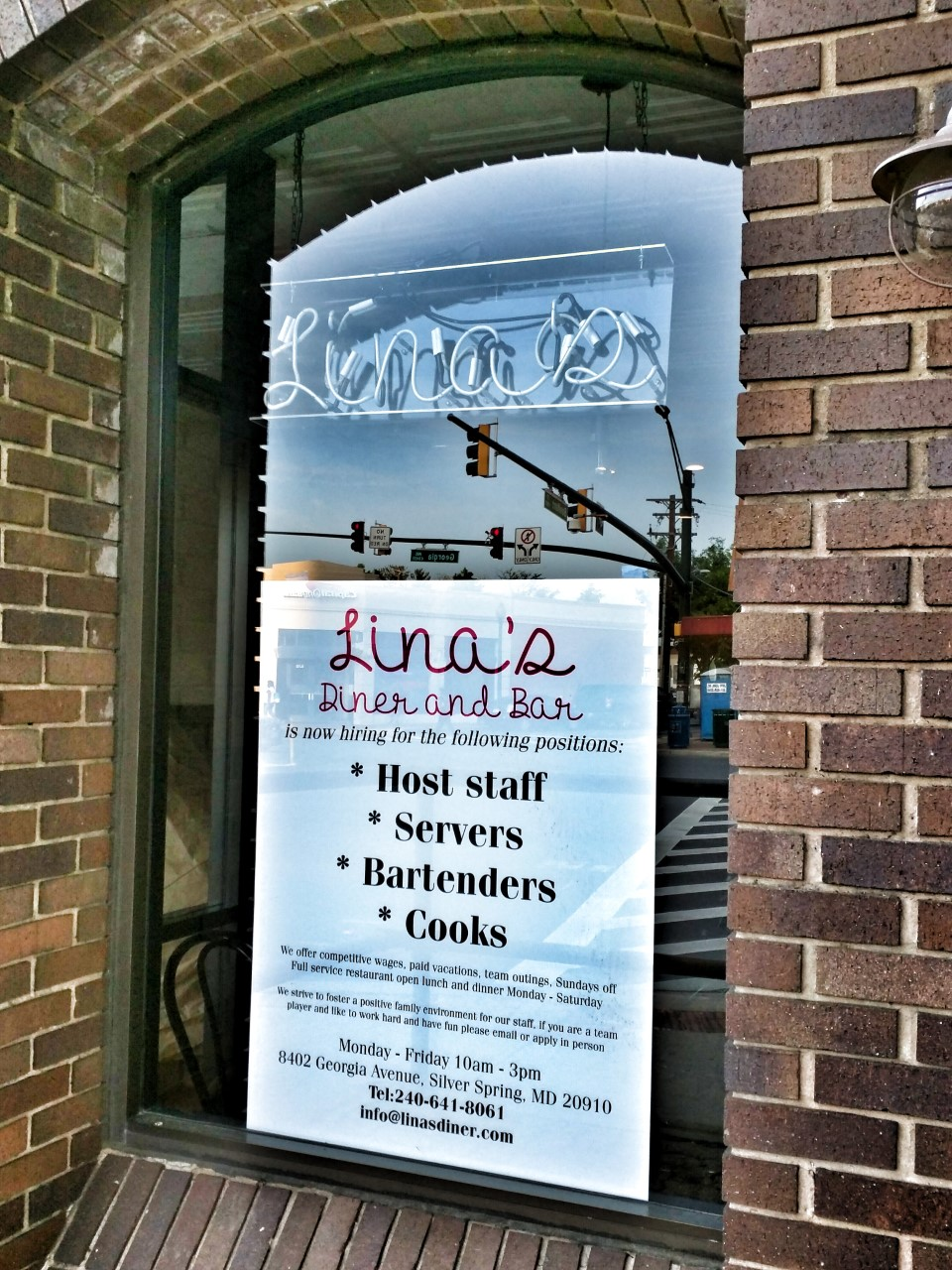 east moco: lina's diner and bar opens in downtown silver spring