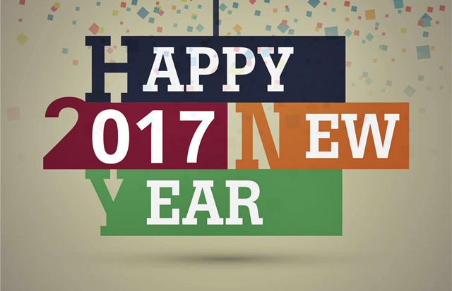 Happy New Year 2017 HD Photo